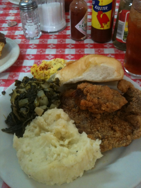 It's Southern food at it's best. Of COURSE it has power...